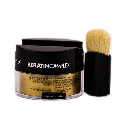 Keratin Complex Fashion Therapy Sparkle + Shine Keratin Highlighting Powder - Color : Gold / 0.63 oz