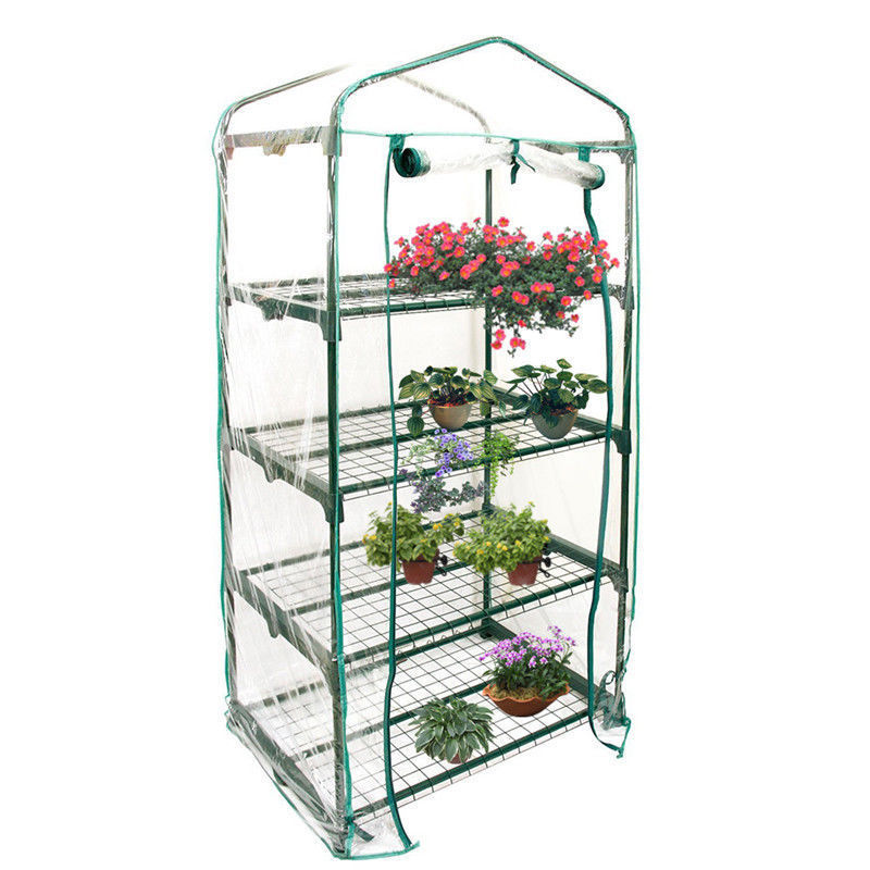 Greenhouse Cover Mini Portable Garden Green House Outdoor Warm Greenhouse Flower Plants Gardening