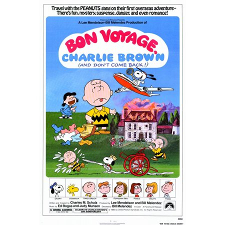 Bon Voyage Charlie Brown (1980) 11x17 Movie Poster](Bon Voyage Decorations Ideas)