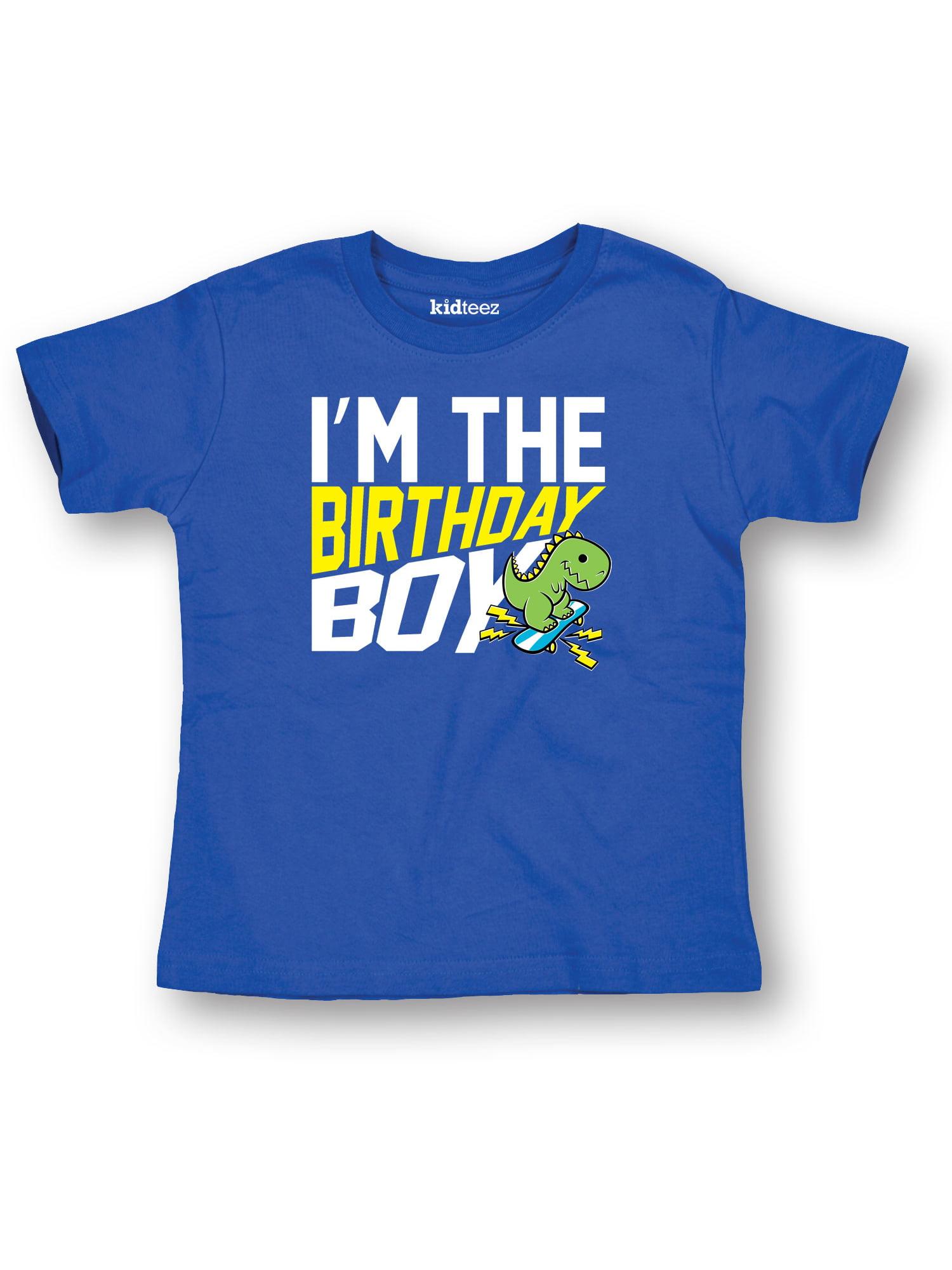 I'm The Birthday Dino Happy Birthday Party-Toddler T-Shirt