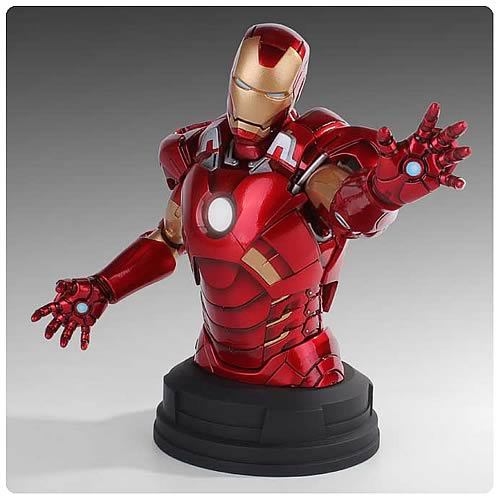 Avengers Iron Man Deluxe Mini Bust by