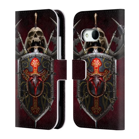 OFFICIAL TOM WOOD FANTASY LEATHER BOOK WALLET CASE COVER FOR HTC PHONES 1