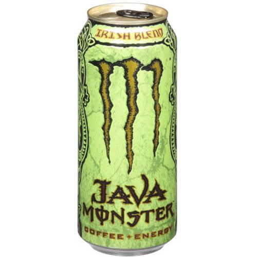Java Monster Irish Blend Coffee + Energy Drink, 15 fl oz by MONSTER BEVERAGE CORPORATION