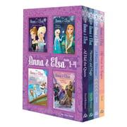 Anna & Elsa: Books 1-4 (Disney Frozen)