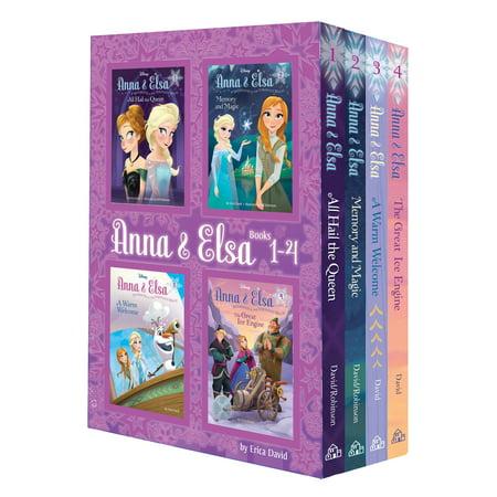 Anna & Elsa: Books 1-4 (Disney - Anna From Frozen Makeup