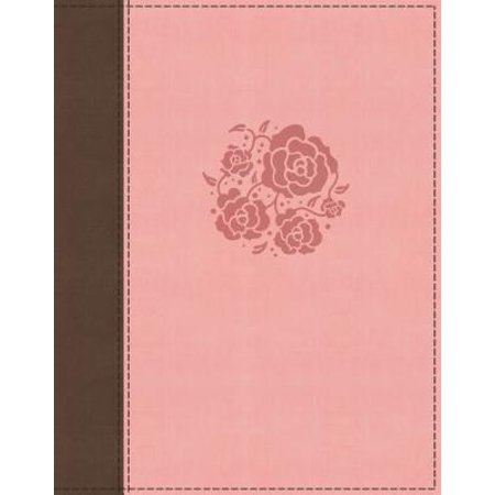 NIV, Journal the Word Bible for Women, Leathersoft, Pink, Red Letter Edition, Comfort Print : 500+ Prompts to Encourage Journaling and (Mini Avalanche 500 Letters)