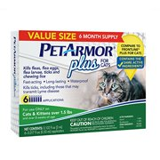 PetArmor Plus for Cats, 6 Monthly Doses