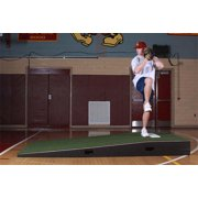 ProMounds 5' Wide ProModel Practice Pitching Mound with Spike Resistant Turf (Green)