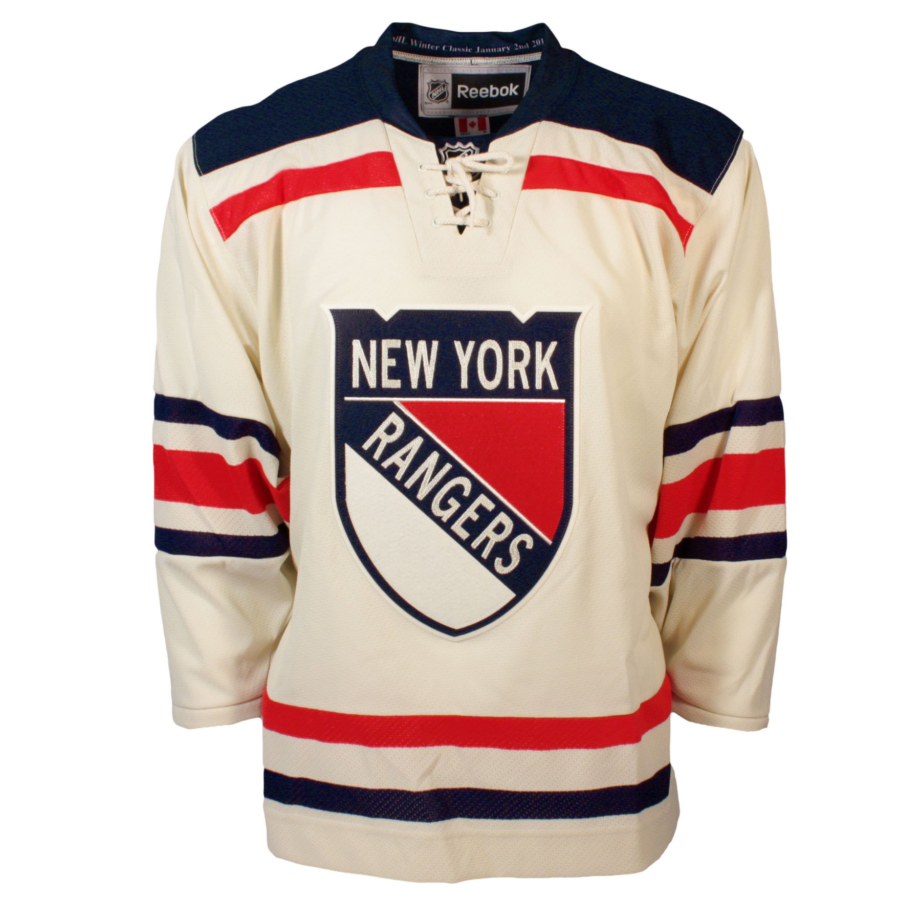 new style fb321 98d41 New York Rangers 2012 NHL Winter Classic Premier Replica ...
