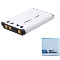 LI-42B Battery for Olympus D Cameras D630, D720, D725, D730 + eCostConnection Microfiber Cloth