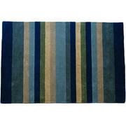 Abhiasmi Jovi HomeTailored Multi Stripe Hand-tufted Rug (5'x8')