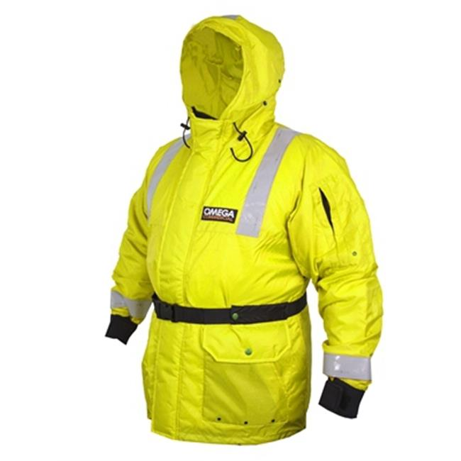 Flowt 41803-XL Commercial Float Coat - Yellow, Extra Large