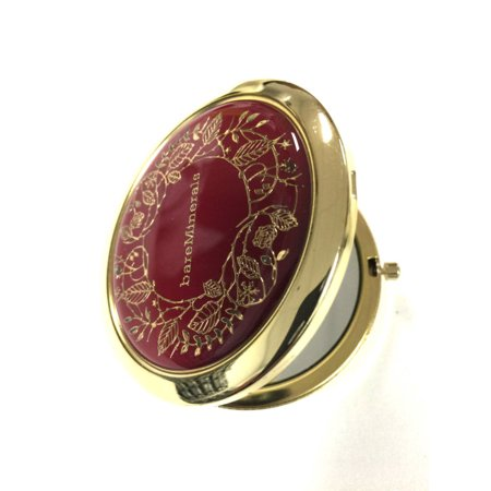 bareMinerals Mirrored Compact Royal Collection Red And Gold (Bareminerals Collection)