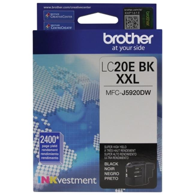 Brother International LC20EBK Innobella Super High-Yield Ink, Black