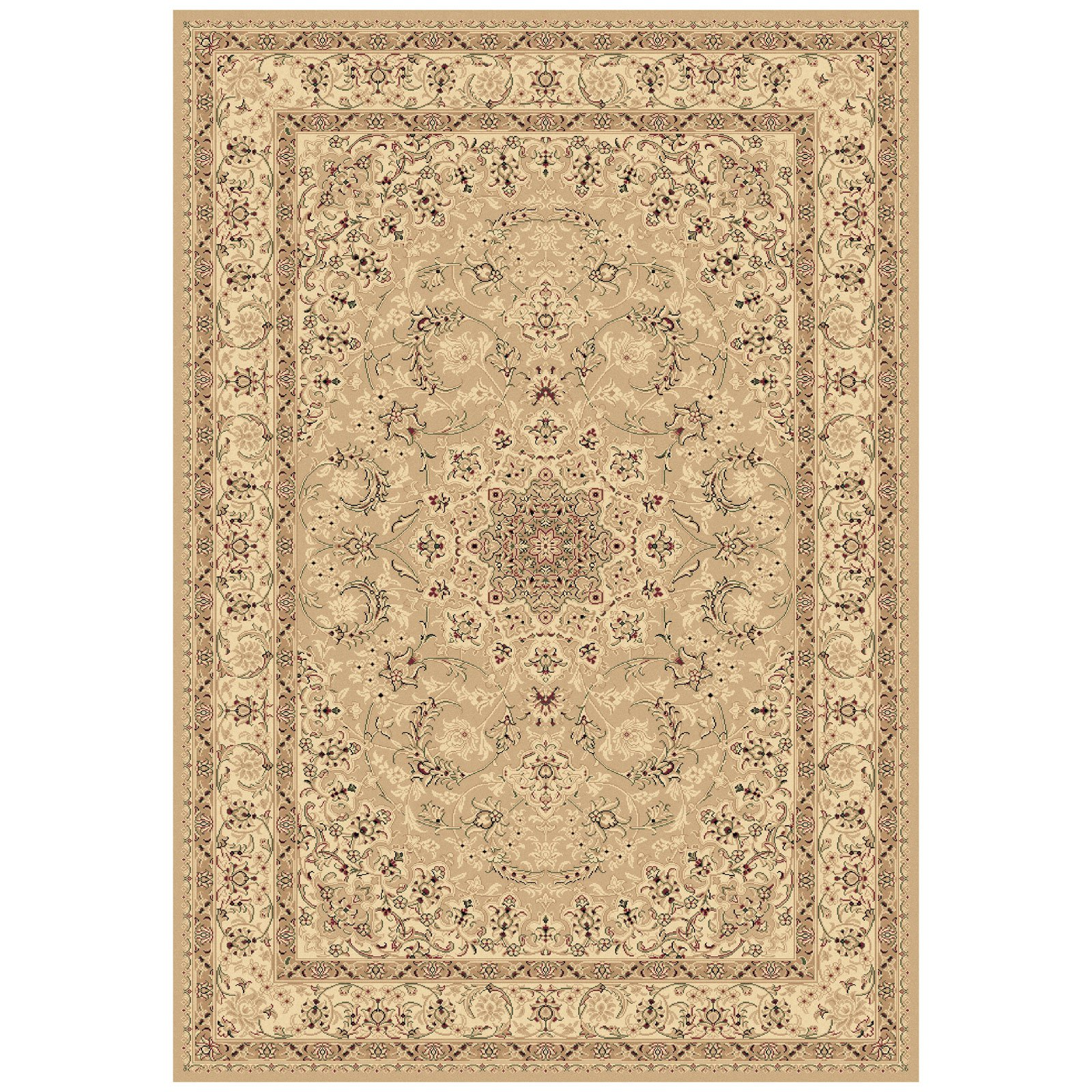 Dynamic Rugs Legacy 58000 Star Point Persian Rug - Yellow
