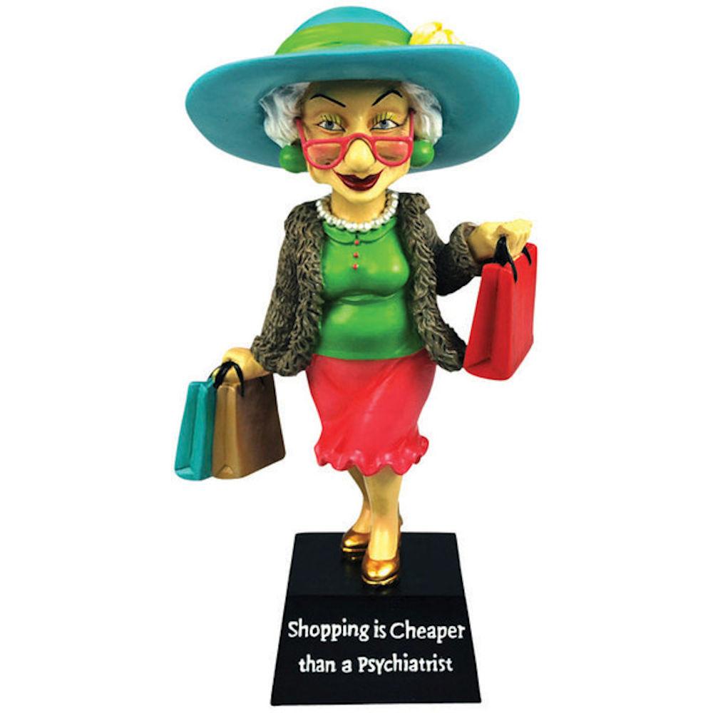 Westland Giftware Biddys Collection 12963 Shopping Is Cheaper Bobble Figurine Walmart Com Walmart Com