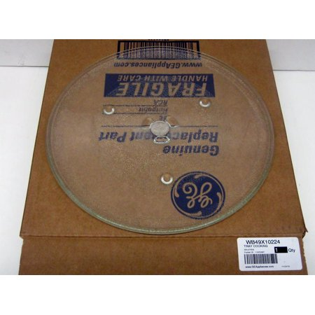 WB49X10224 GE Microwave Turntable Cooking Glass Tray Dish AP4484560 PS2370393