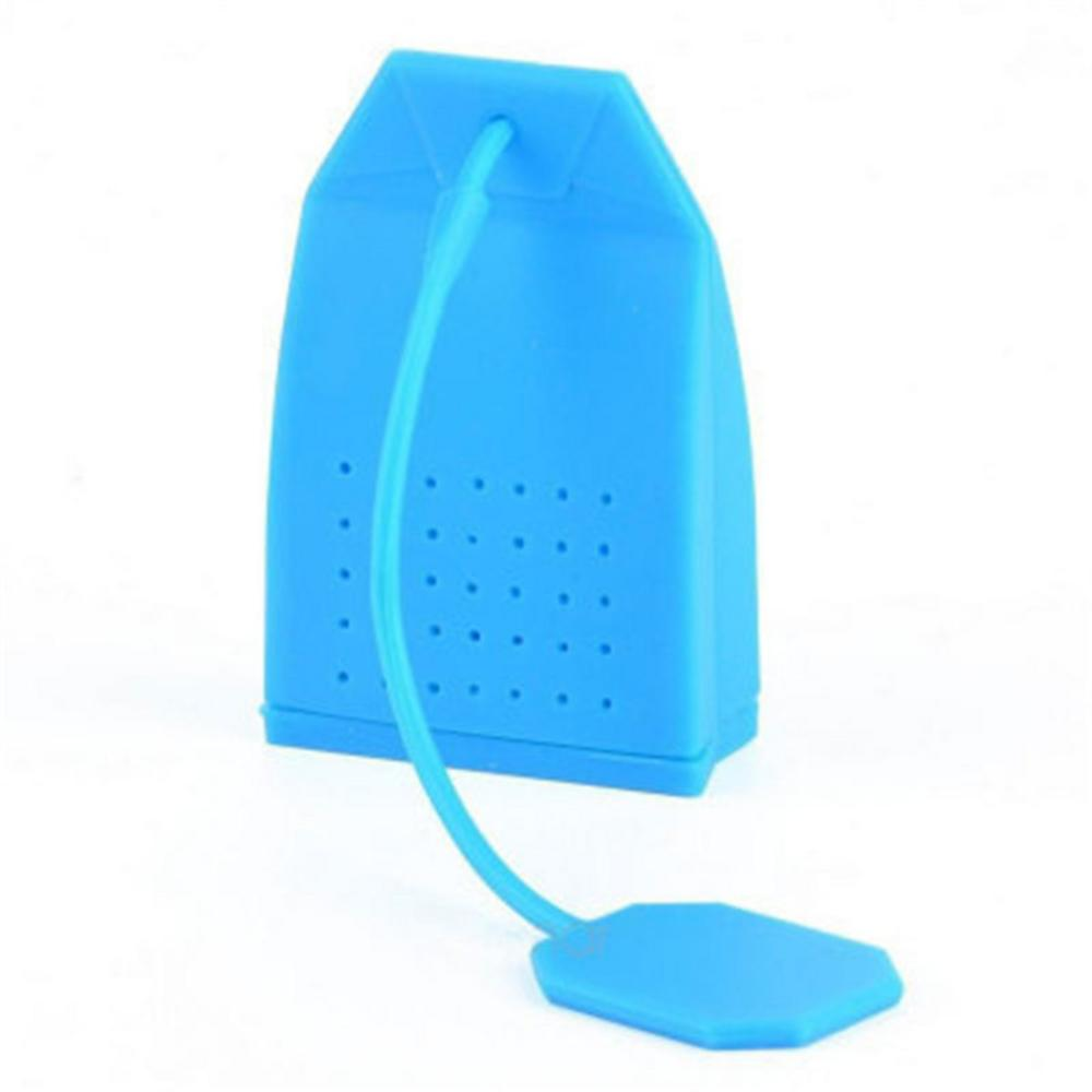 1pc Silicone Tea Bag Strainer Herbal Spice Infuser Filter New Diffuser Y0T6