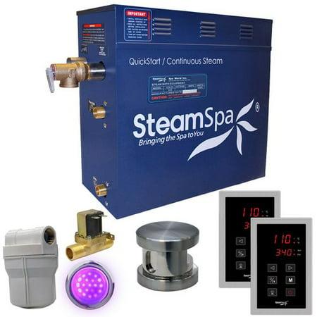 Steamspa Ryt900-A Royal 9 Kw Quickstart Acu-Steam Bath Generator Package - Bronze