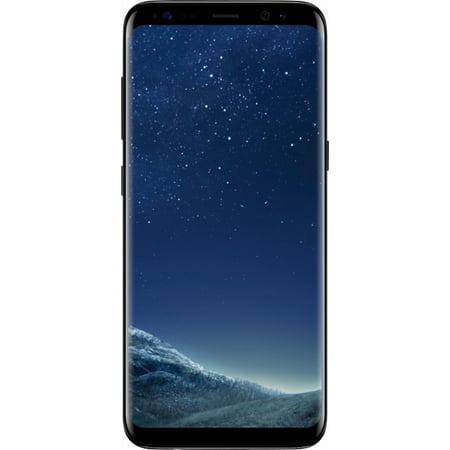 Refurbished Samsung SM-G950UZKAXAA Galaxy S8 64GB Midnight Black LTE Cellular