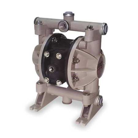 ARO 66605J-3EB Double Diaphragm Pump, Air Operated, 150F