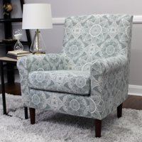 Mainstays Raelynn Rolled Arm Lounge Chair, Multiple Colors