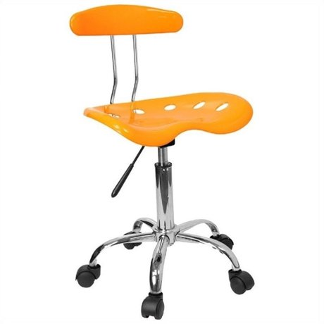 flash furniture vibrant computer task office chair in yellow. Black Bedroom Furniture Sets. Home Design Ideas
