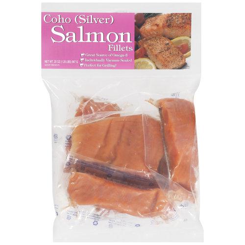 The Fishin' Company Coho Salmon Fillets, 5ct