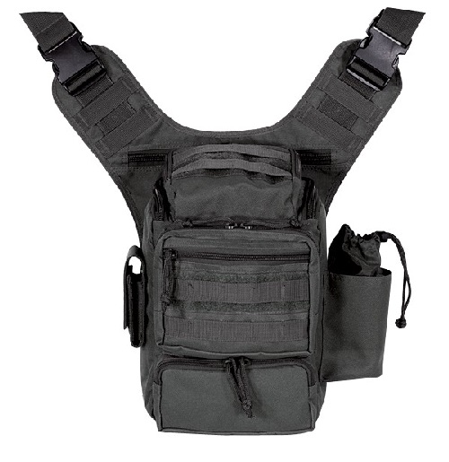 Voodoo Tactical 15-045701000 Padded Concealment Bag Black