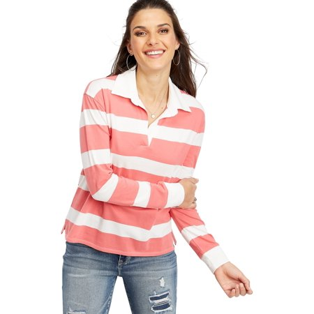 24/7 Long Sleeve Rugby Stripe Tee