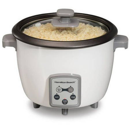 Hamilton Beach 16 Cup Rice Cooker | Model# 37547 (Hamilton Beach Ensemble Rice Cooker 20 Cup Capacity)
