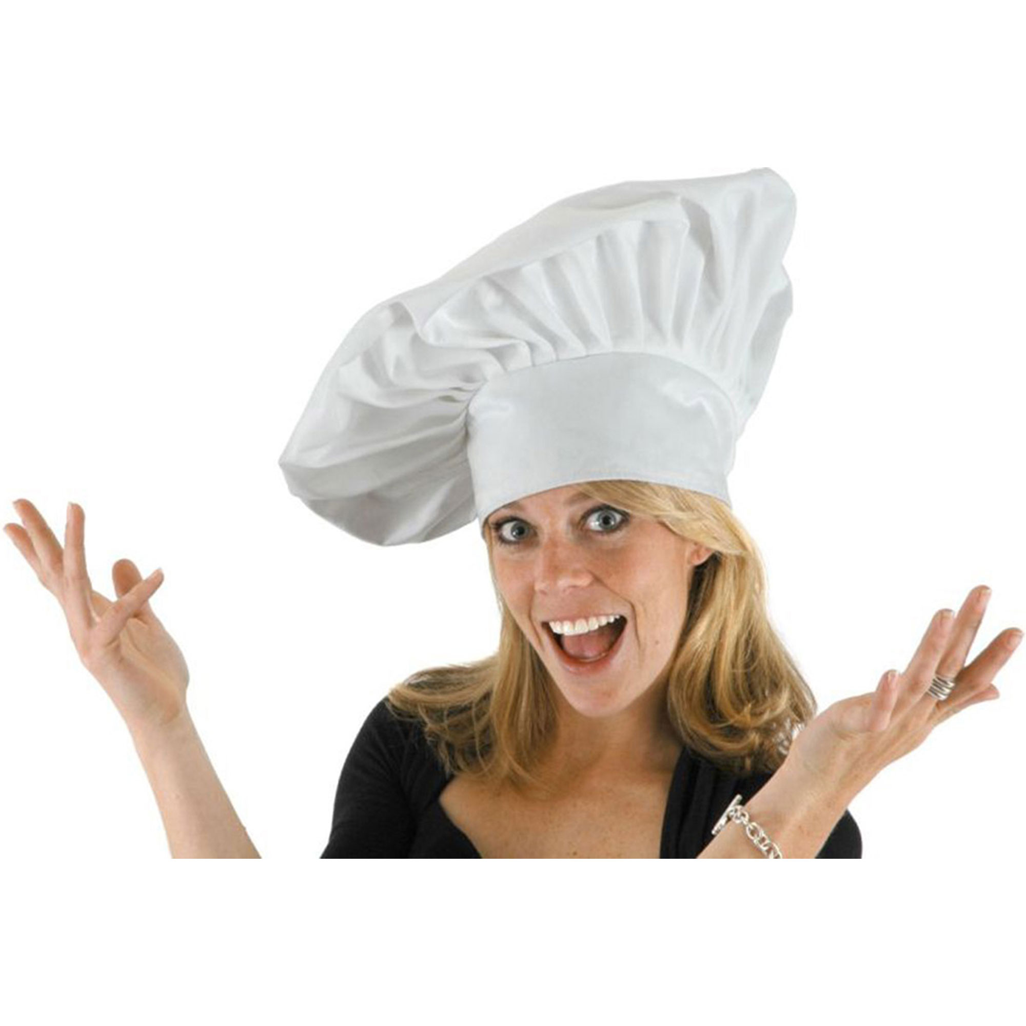 Morris Costumes Adult Unisex 100% Cotton Twill Chef Hat, Style ELA2430