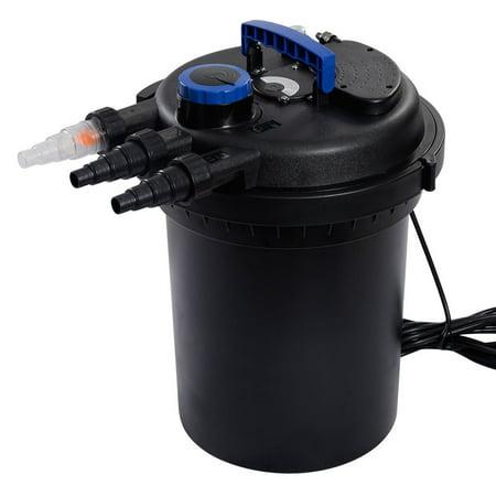 10 000 liter per hour koi pond pressure bio filter uv