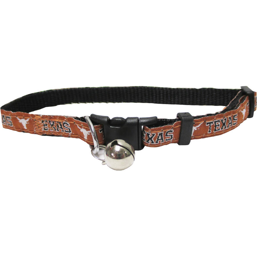Pets First College Texas Longhorns Cat Collar