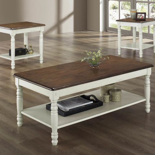 Woodhaven Hill Ohana 3 Piece Coffee Table SetWalmartcom