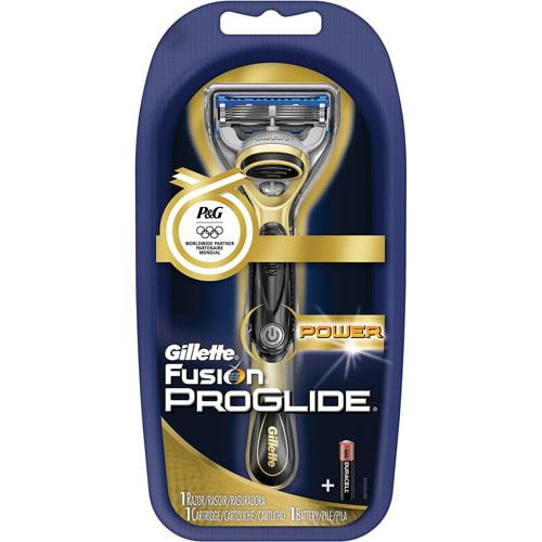 Gillette Fusion ProGlide Power Razor, Cartridge & Battery Kit