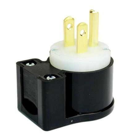 Superior Electric YGA019A 15A 125V NEMA 5-15P Straight Electrical Plug