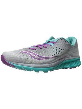 Product Image Saucony Women s Kinvara 8 Running Shoe, 5 M US,  Grey Teal Purple 1e97ec5316