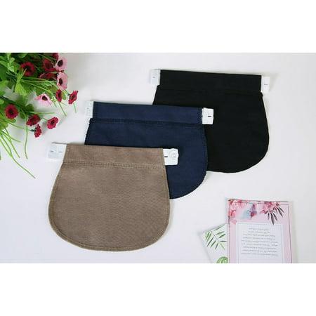 Maternity Pregnancy Waistband Belt ADJUSTABLE Elastic Waist Extender Pant L/_X