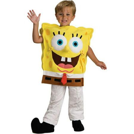 Morris Costumes Spongebob Deluxe Toddler, Style RU883139T