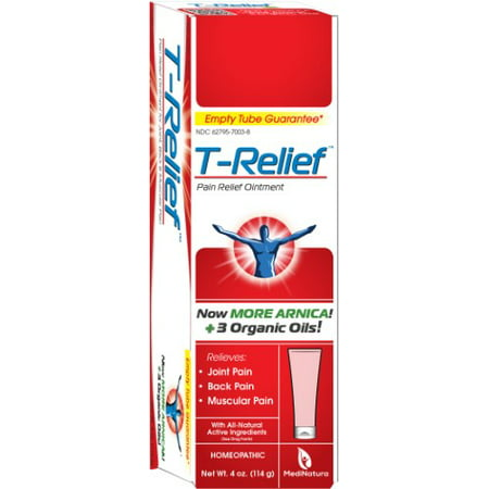 T-Relief Joint, Muscle & Back Pain Relief Ointment, 4 oz ()