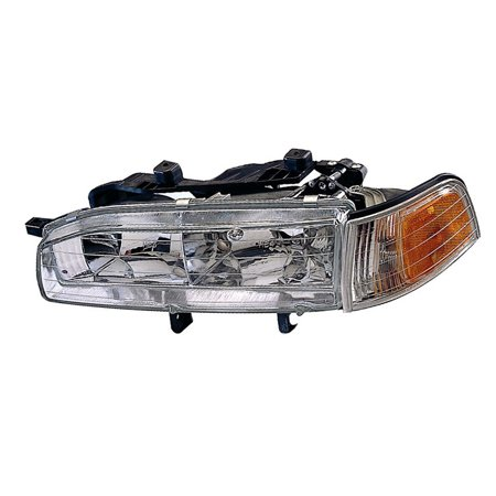 Replacement Driver Side Headlight For 91-93 Honda Accord 33150SM4A04  HO2502107