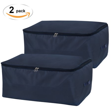 Lifewit Under Bed Storage Bag Thick Oxford Fabric Clothes Comforters Bedding