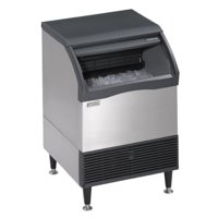 Scotsman Air Cool 200 LB. Prod. Prodigy Ice Cube Maker w  80 LB. Bin Small Cube