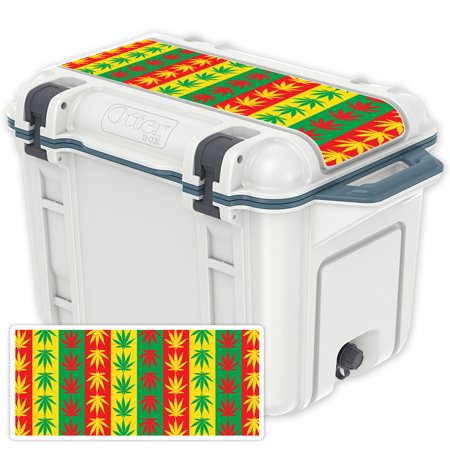 MightySkins Skin For OtterBox Venture 45 qt Cooler Lid   Protective, Durable, and Unique Vinyl Decal wrap cover   Easy To Apply, Remove, and Change Styles   Made in the USA - Lids Order Tracking