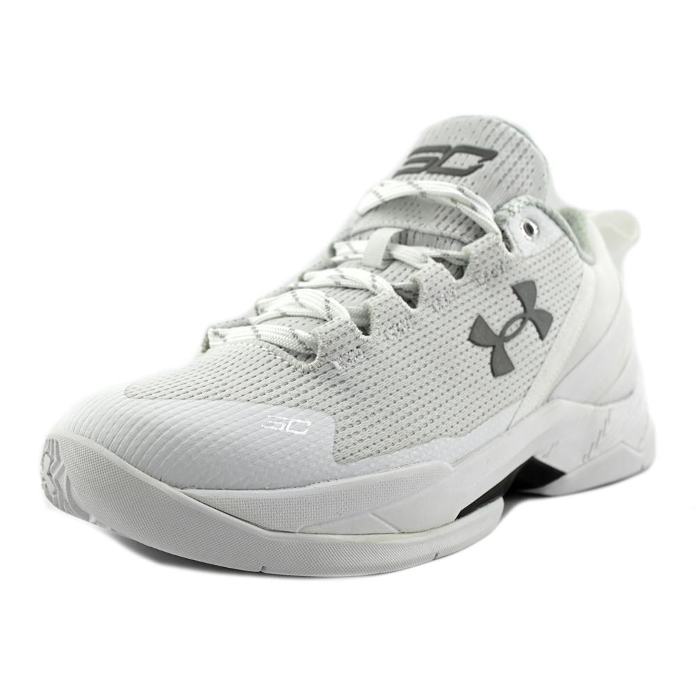 Under Armour Bgs Curry 2 Low   Round Toe Synthetic  Baske...