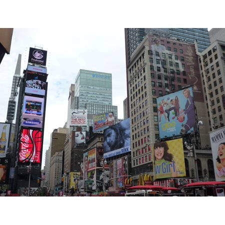 Canvas Print Nyc New York City Broadway Time Square Usa Stretched Canvas 10 x 14](Halloween Store Broadway Nyc)