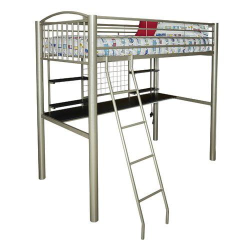 Zoomie Kids Korte Twin Loft Bed Walmart Com