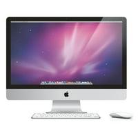 """Apple MC813LL/A Intel Core i5-2500S X4 2.7GHz 4GB 1TB 27"""",Silver (Refurbished)"""