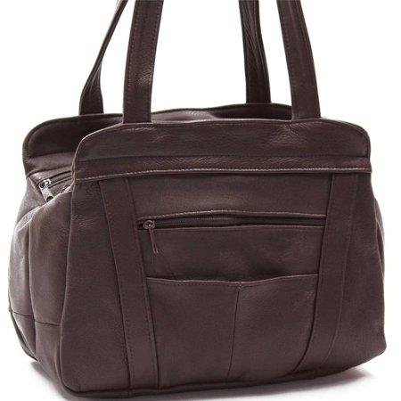 f2c8b20b AFONiE - AFONiE 3 Compartment Leather Hobo Bag - Walmart.com